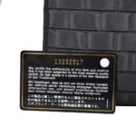 Chanel Clutch black satin CC rose silver_11 Kopie