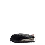 Chanel Clutch black satin CC rose silver_6 Kopie