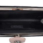 Chanel Clutch black satin CC rose silver_9 Kopie