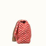 Chanel Tasche Canvas red white-12 Kopie