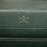 Louis Vuitton Briefcase green taiga leather gold_3 Kopie