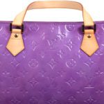Louis Vuitton Houston purple vernis leather_2 Kopie