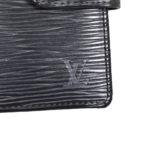 Louis Vuitton wallet epi leather black 4 Kopie