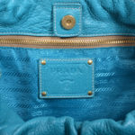 Prada bag blue gold smoked leather_1 Kopie