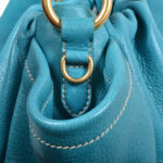 Prada bag blue gold smoked leather_4 Kopie