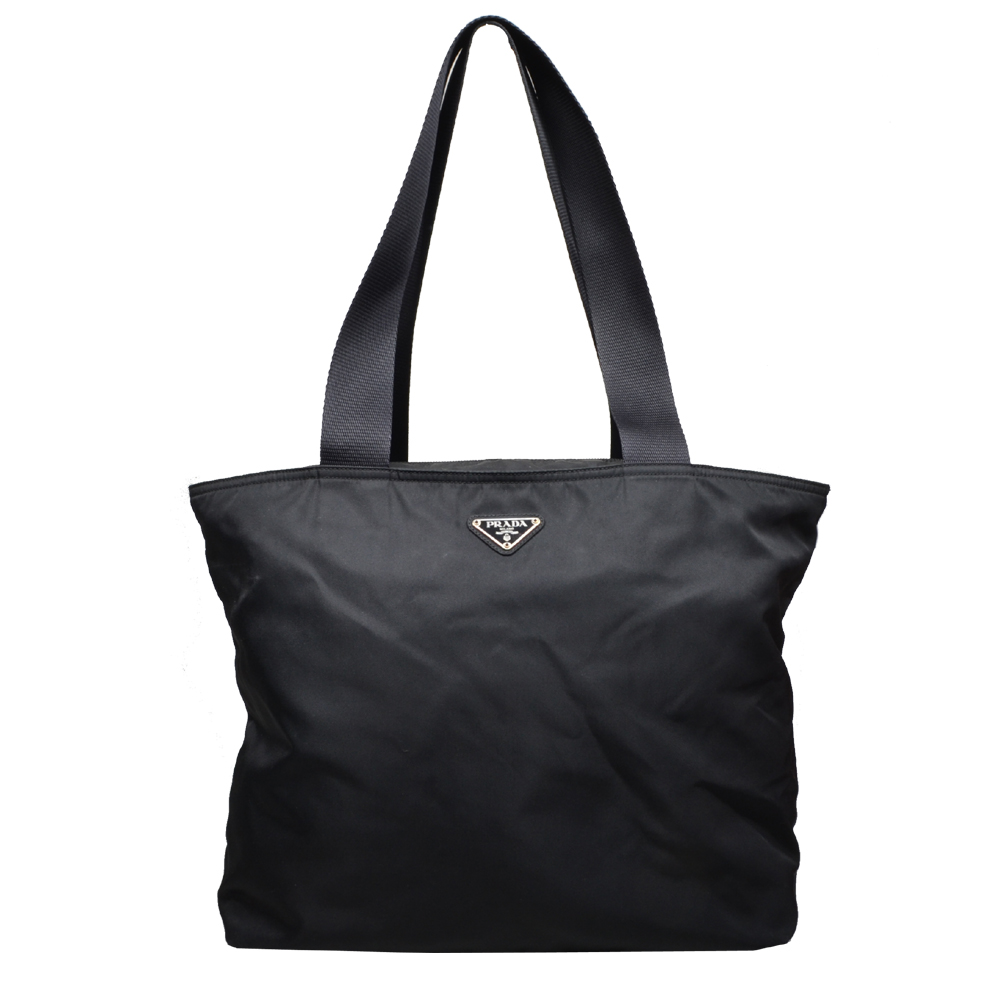 Prada shoulder bag schopper neilon black 8 Kopie