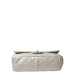 chanel 25.5 silver nappa leather silver 8