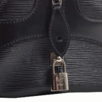 louis vuitton bag Bowling-Montaigne-GM epi leather black 1 Kopie