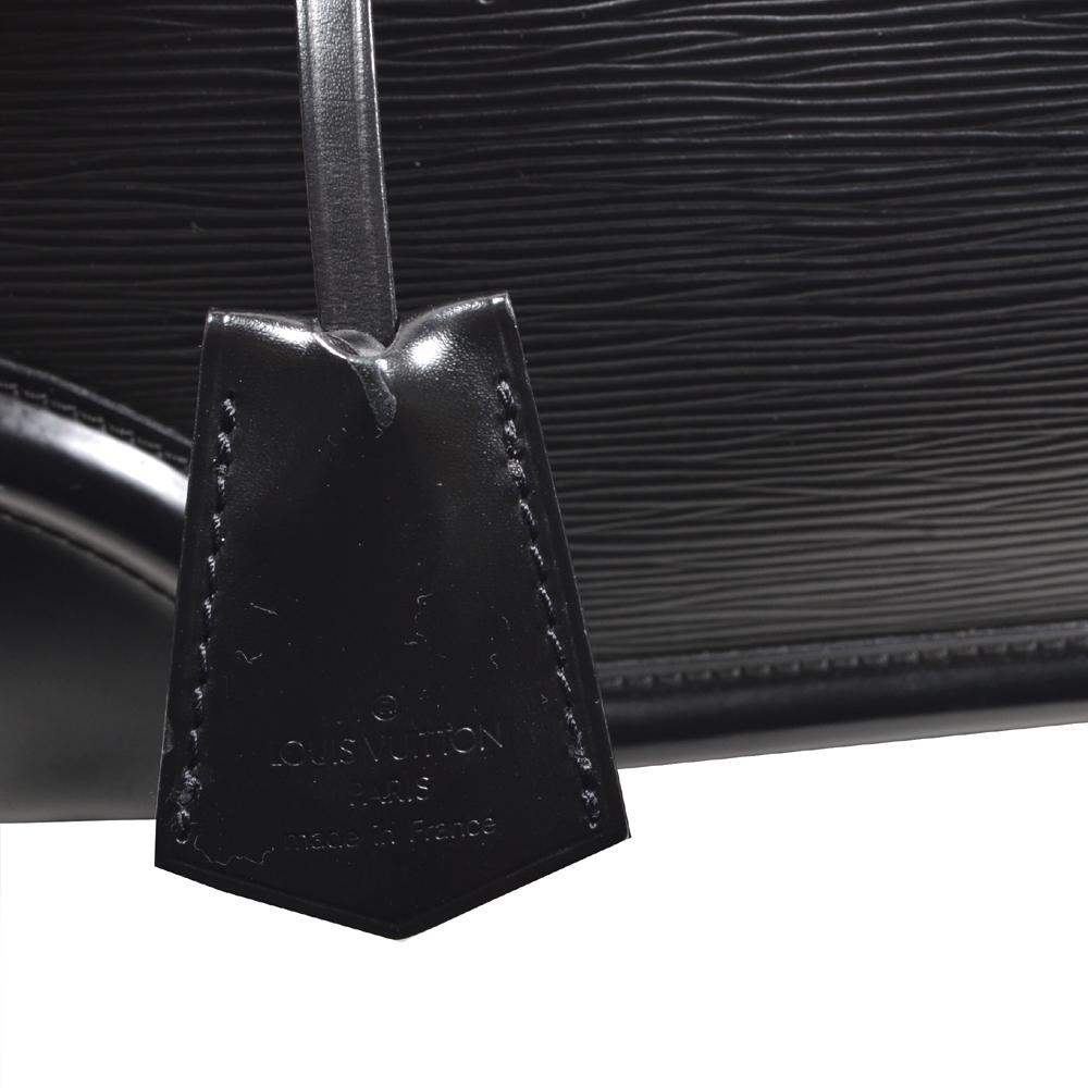 louis vuitton bag Bowling-Montaigne-GM epi leather black 8 Kopie f06c8bd173061
