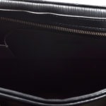 louis vuitton bag Bowling-Montaigne-GM epi leather black10