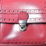 Carven bag bordeux red leather_2 Kopie