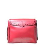 Carven bag bordeux red leather_5 Kopie