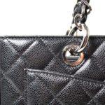 Chanel GST Shopper black caviar leather silver_1 Kopie