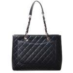 Chanel GST Shopper black caviar leather silver_11 Kopie