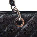 Chanel GST Shopper black caviar leather silver_4 Kopie