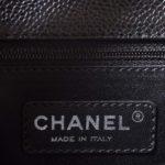 Chanel GST Shopper black caviar leather silver_5 Kopie
