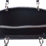 Chanel GST Shopper black caviar leather silver_8 Kopie