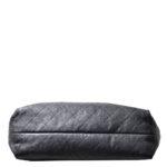 Chanel Shopper big black caviar leather CC silver_2 Kopie