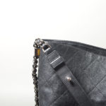 Chanel Shopper big black caviar leather CC silver_7 Kopie