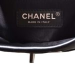 Chanel backpack black silver nappaleather_13 Kopie