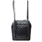 Chanel backpack black silver nappaleather_7 Kopie
