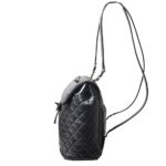 Chanel backpack black silver nappaleather_9 Kopie
