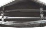 Chanel bag white grey silver leather_13 Kopie