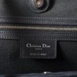 Christian Dior shopper black canvas leather CD_2 Kopie