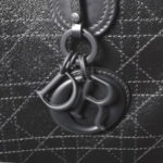Christian Dior shopper black canvas leather CD_3 Kopie