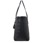Christian Dior shopper black canvas leather CD_8 Kopie