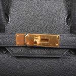 Hermes Birkin 30 black togo leather gold hardware_2 Kopie