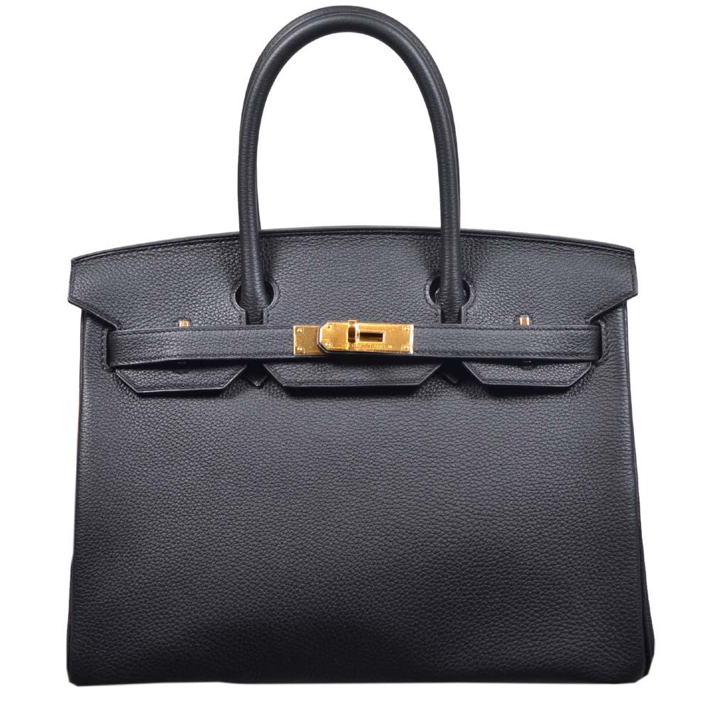 Hermes Birkin 30 black togo leather gold hardware_6 Kopie