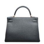 Hermes Kelly 32 togo leather Vert Fronce gold hardware_5 Kopie