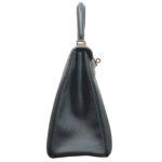 Hermes Kelly 32 togo leather Vert Fronce gold hardware_6 Kopie