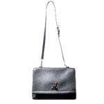 Louis Vuitton MY Lockme black leather silver_6 Kopie