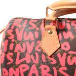 Louis Vuitton Speedy 30 Limited Edition grafitti pink LV Monogram_7 Kopie
