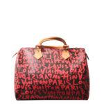 Louis Vuitton Speedy 30 Limited Edition grafitti pink LV Monogram_8 Kopie