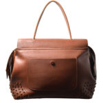 Tods bag wave cognac rivets leather_7 Kopie
