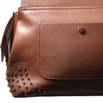 Tods bag wave cognac rivets leather_8 Kopie
