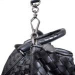 Bottega Veneta bag woven black leather_5 Kopie