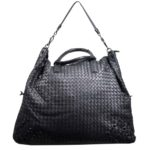 Bottega Veneta bag woven black leather_7 Kopie