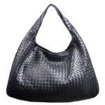 Bottega hobo bag black woven leather_4 Kopie