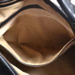 Bottega hobo bag black woven leather_5 Kopie