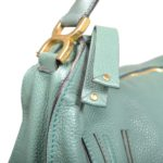Chloé Marcie MM Lotus green leather gold_4 Kopie