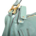 Chloé Marcie MM Lotus green leather gold_4 Kopie