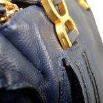 Chloé Marcie MM darkblue leather gold_2 Kopie