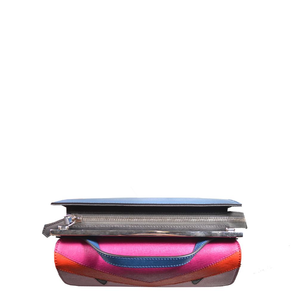 806d7c499e ... usa fendi demi jour crossbody bag small blue red pink leather hardware  silver6 kopie ddbfd e3360 sweden fendi silver ...