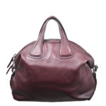 Givenchy Nightingale bag Aubergine leather silver_4 Kopie
