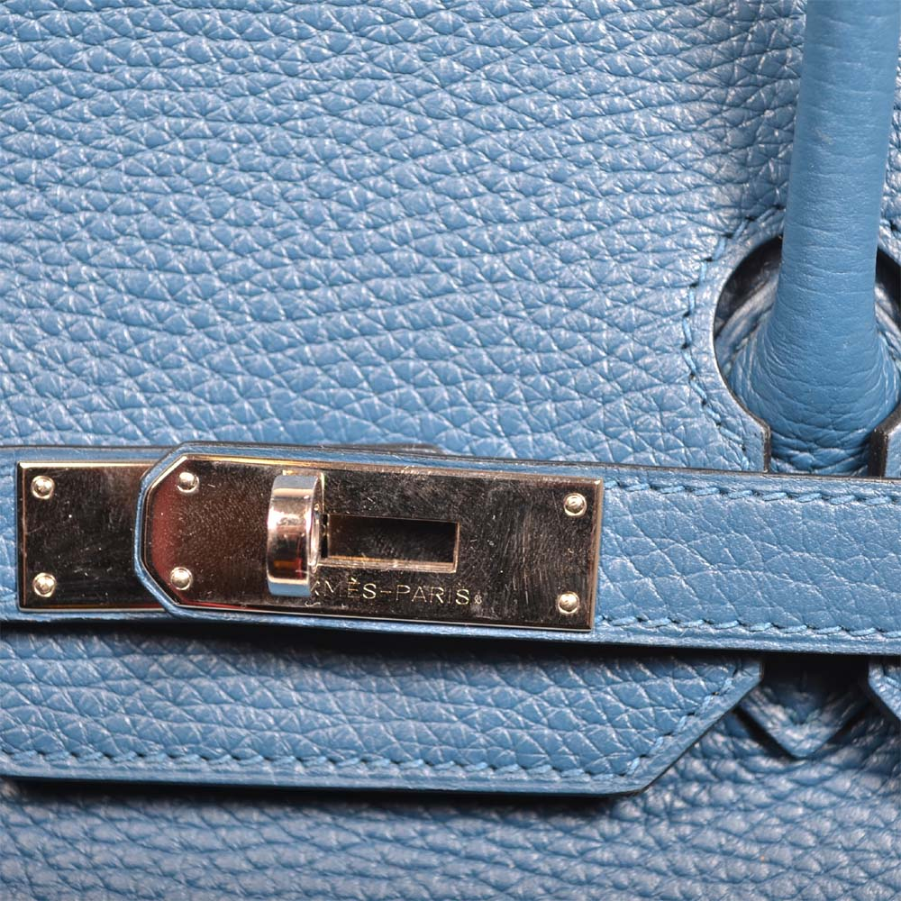 8842d98e18 ... buy hermes birkin 35 blue de galice togo leather hardware palladium3  kopie 1dc69 708f2