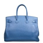 Hermes Birkin 35 blue de galice togo leather hardware palladium_6 Kopie